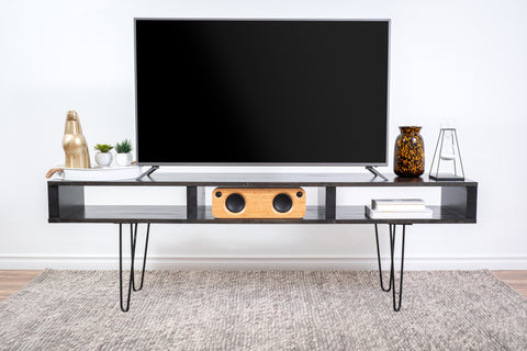 Black tv stand/tv table