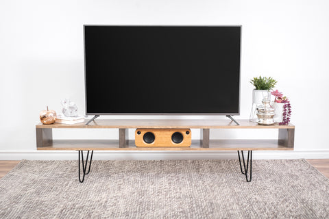 Beige tv stand/tv table