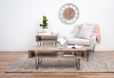 Beige coffee table
