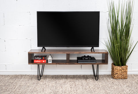 brown tv stand/tv table