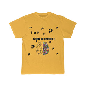 UNISEX Short Sleeve  where is my mind