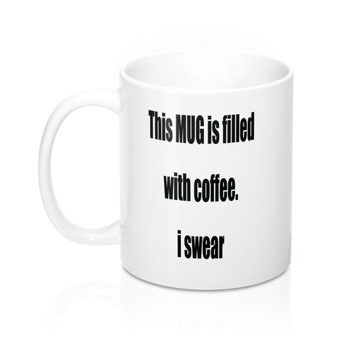 Mug 11oz BEER OR COFFEE