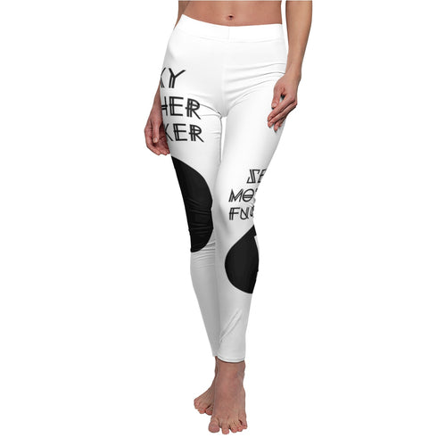 Women's Cut & Sew Casual Leggings SMF