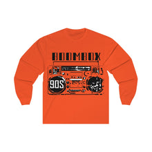 Load image into Gallery viewer, Unisex Long Sleeve Tee Boombox