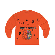 Load image into Gallery viewer, Unisex Long Sleeve Tee where is my mind