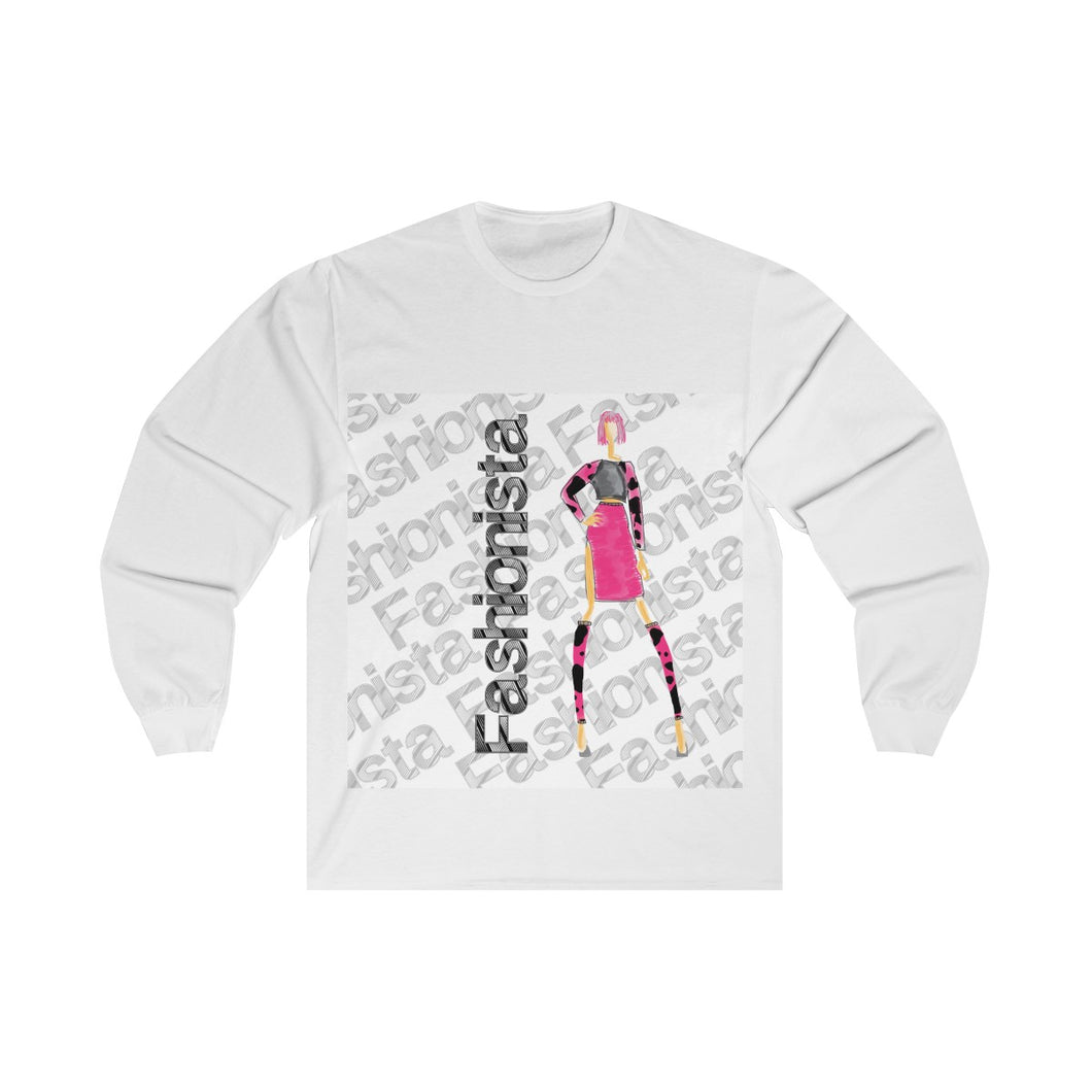 Unisex Long Sleeve Tee fashionista (delta)