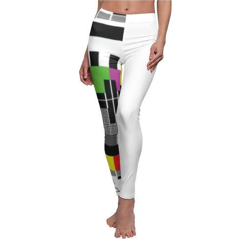 Women's Cut & Sew Casual Leggings no signal