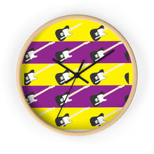 Load image into Gallery viewer, Wall clock GUITAR
