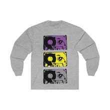 Load image into Gallery viewer, Unisex Long Sleeve Tee Cassete