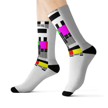 Load image into Gallery viewer, Sublimation Socks NO SIGNAL