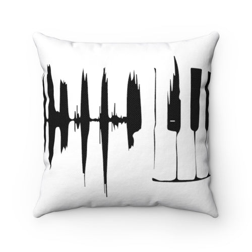 Spun Polyester Square Pillow pulse