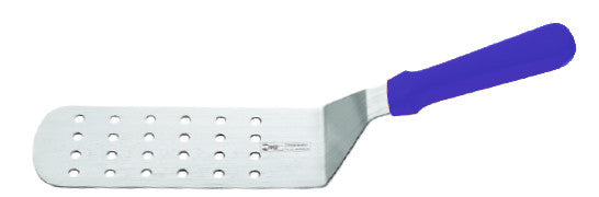 Perforated Curved Spatula  8