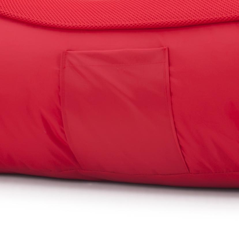 VIP Bean Bag Sofa + Ottoman Set (Street Cred Red)