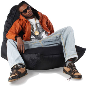 VIP Bean Bag Sofa (Gangsta Black)
