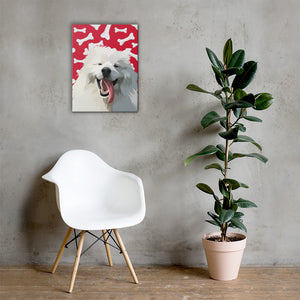 Custom Wrapped Pet Canvas
