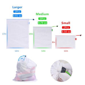 9PCS Biodegradable Produce Bags