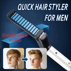 Quick Hair Styler For Men Multifunctional for Hair and Brush Beard