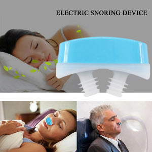 Electric Silicone Anti Snore - Mini Anti Snoring Device
