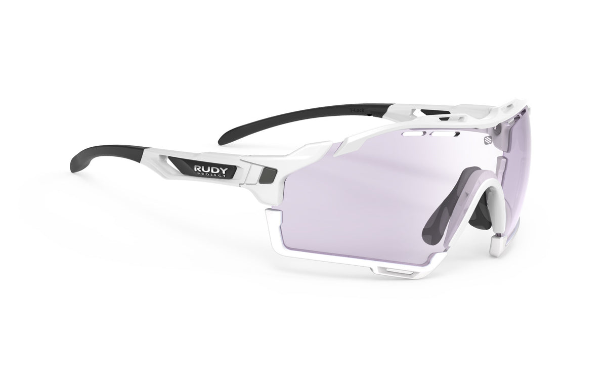 CUTLINE White Gloss - ImpactX Photochromic Laser Purple