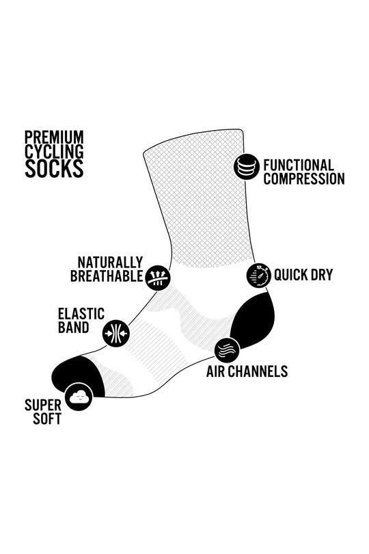 Fuck Off Black Socks