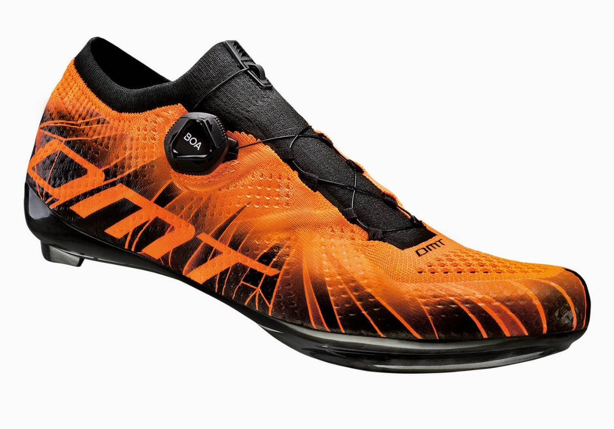Zapatillas Ruta DMT KR1 BLACK / ORANGE FLUO