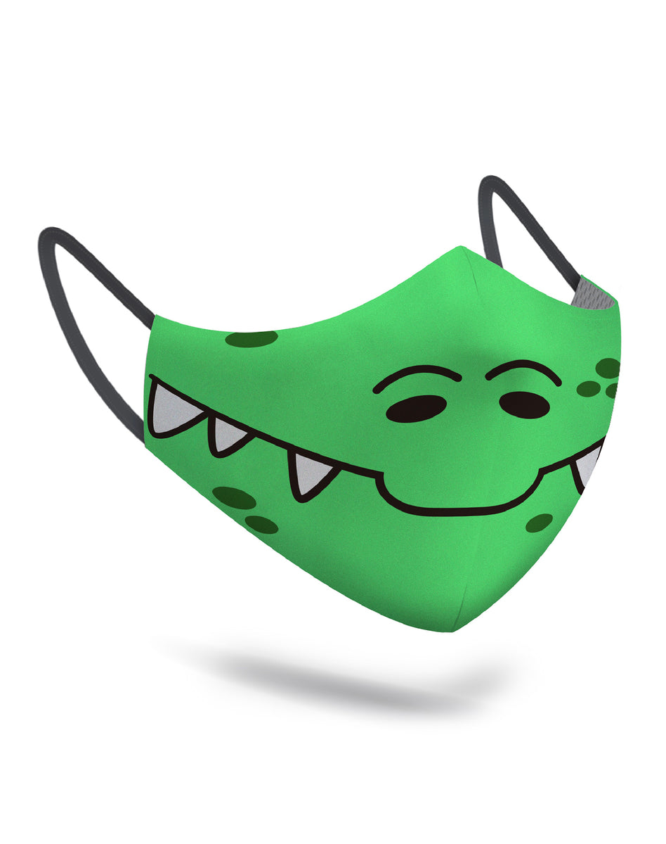 Dino Face Mask Kids