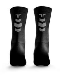 Reflective Army Black Socks
