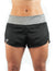 Running Short Woman Fly One Black