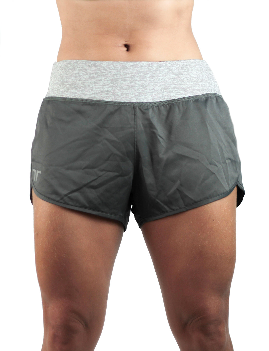 Running Short Woman Fly One Gray