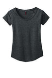 CHARCOAL LADIES ROUND NECK