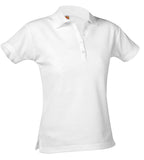 Polo - Ladies Cut POLO Short Sleeve w/OCA Crest Logo 9715