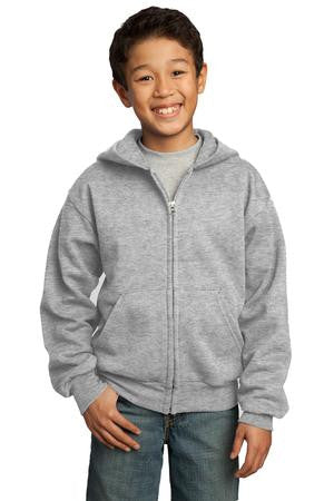 Hoodie - Port Authority Or Gildan Brand with Zipper Includes Embroidered OCA Logo - Youth Sizes