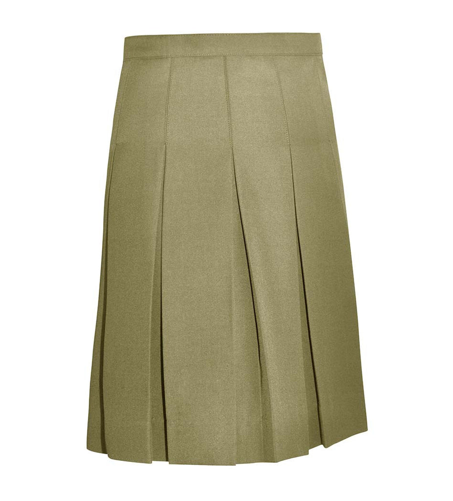 Skirt - Traditional sewn down kick pleated skirt (Girl Sizes)