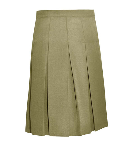 Skirt - Traditional Sewn Down Pleat Skirt Girl/Girl Half Sizes.