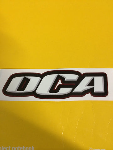 Decal - OCA Mulicolored Car Decal