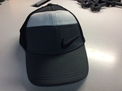 Cap - Nike Black/Dark Grey/White with OCA logo on Side Panel