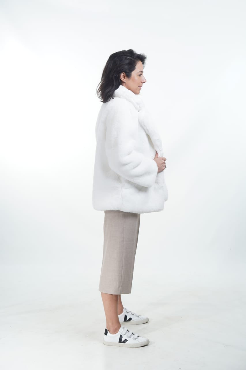 ARIANA FAUX COAT