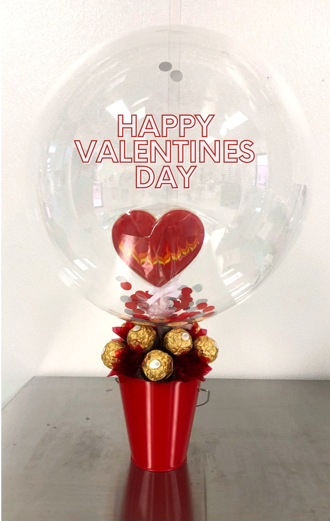 Valentine's Day Gift | Cookie Balloon Bouquet
