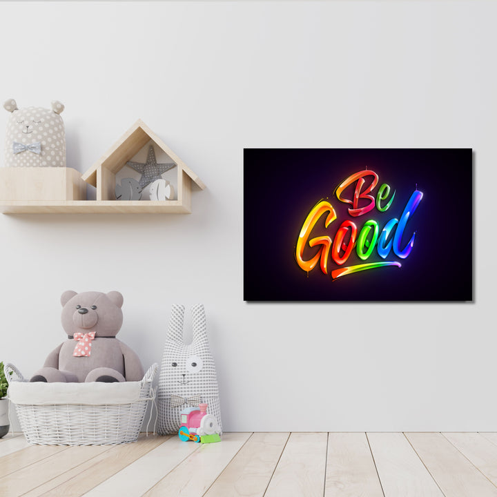 Be Good - Kidspiration Art