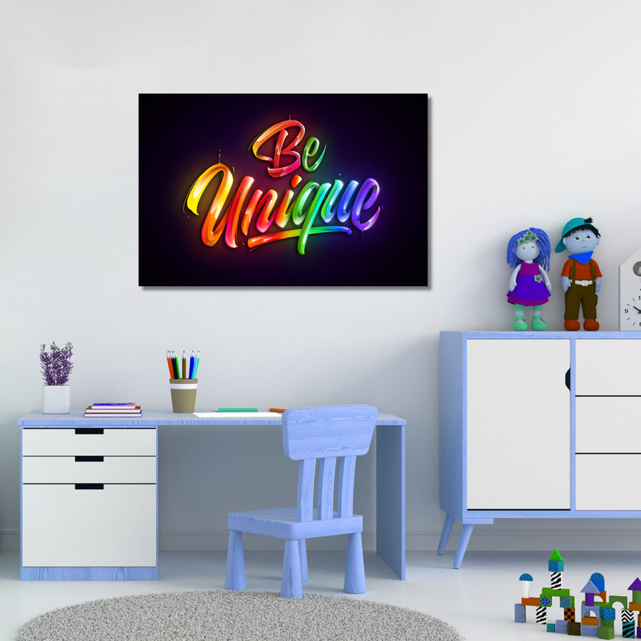 Be Unique - Kidspiration Art