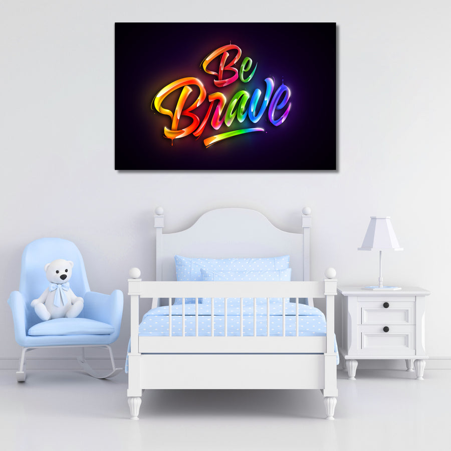 Be Brave - Kidspiration Art