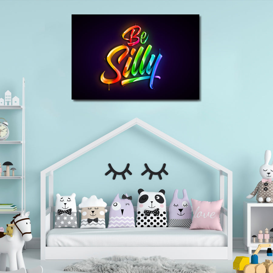 Be Silly - Kidspiration Art