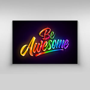 Be Awesome - Kidspiration Art
