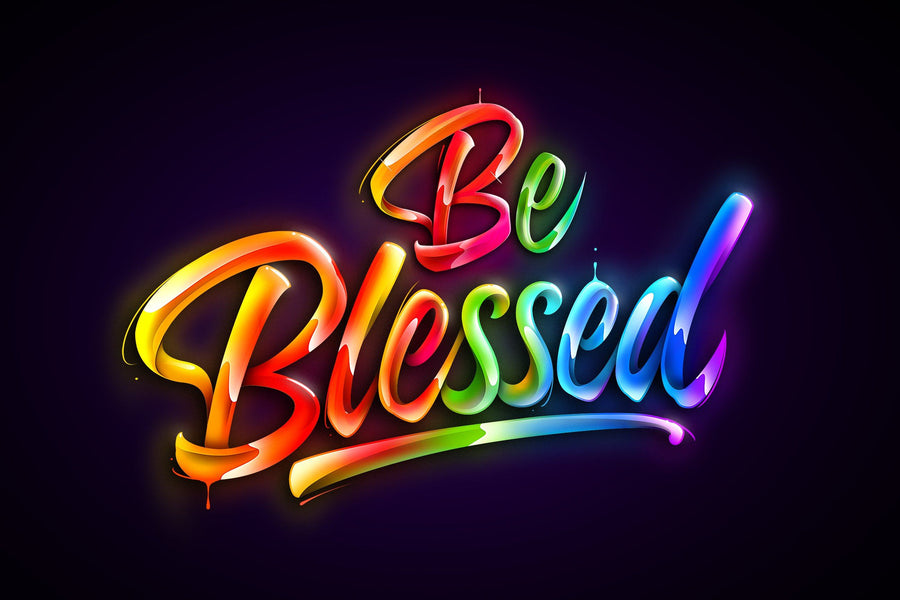 Be Blessed - Kidspiration Art