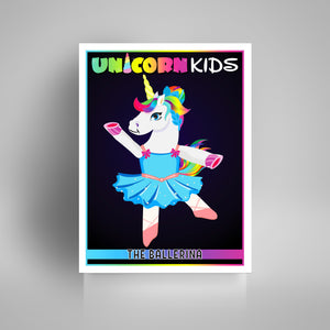Ballerina Unicorn - Kidspiration Art