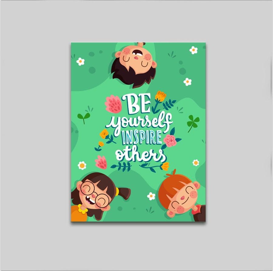 Be Yourself Kids - Kidspiration Art