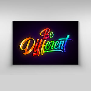 Be Different - Kidspiration Art