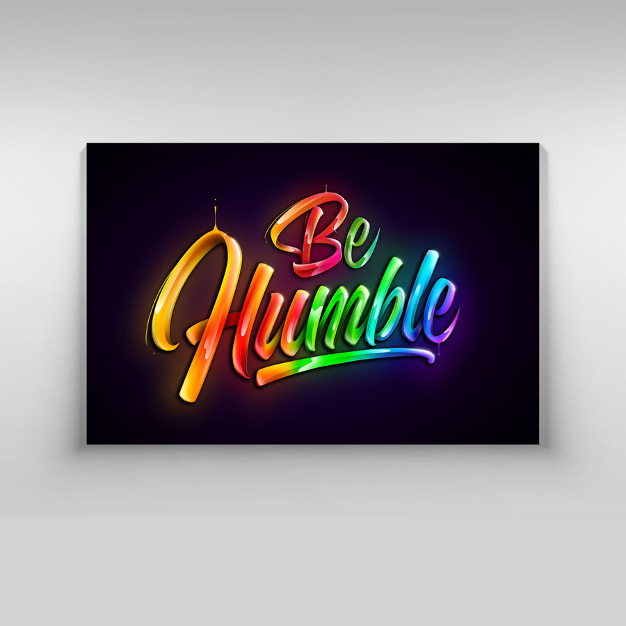 Be Humble - Kidspiration Art