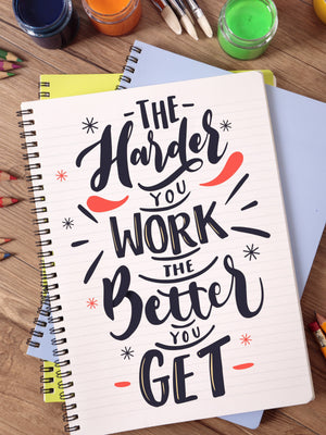 The Harder You Work - Kidspiration Art