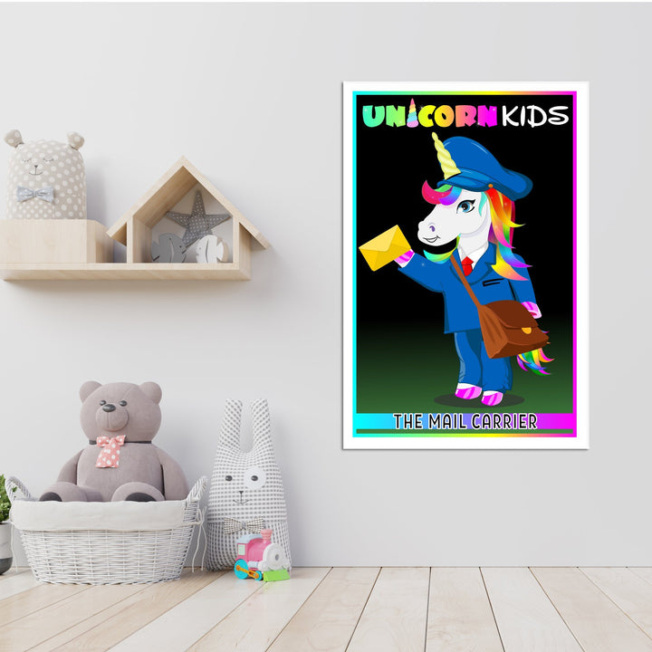 Mail Carrier Unicorn - Kidspiration Art